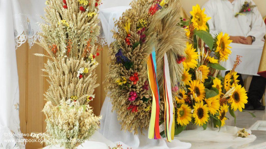 Dożynki 2014 – Msza Św. dziękczynna za tegoroczne plony