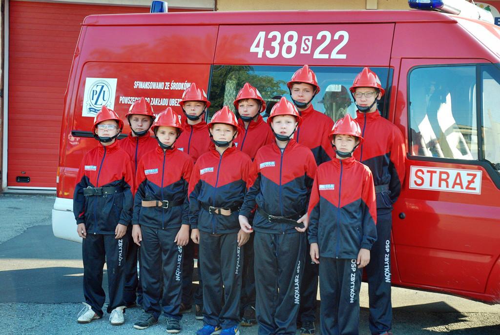 Powiatowe zawody Młodzieżowych Drużyn Pożarniczych