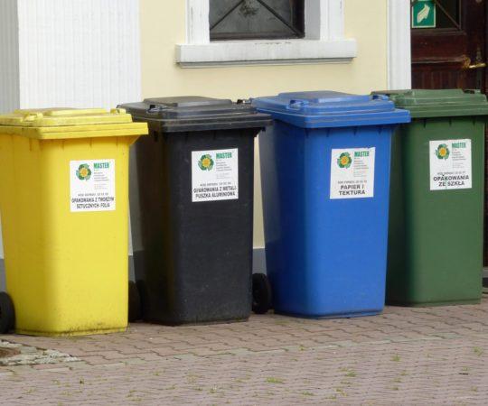 Harmonogram odbioru odpadów na rok 2018