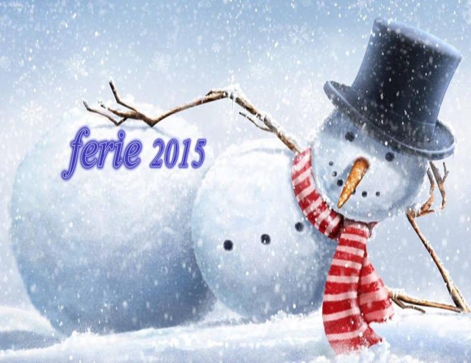 Ferie 2015 w świetlicy