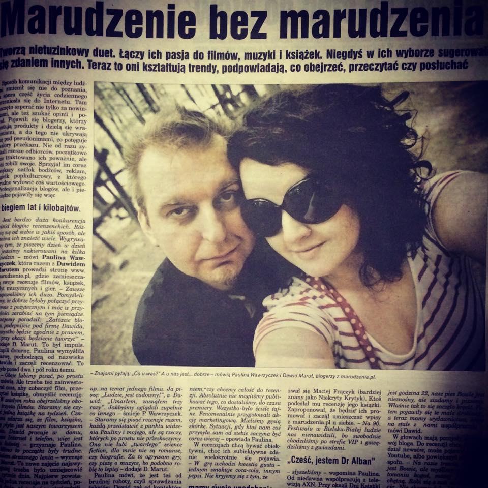 Marudy w lokalnej prasie