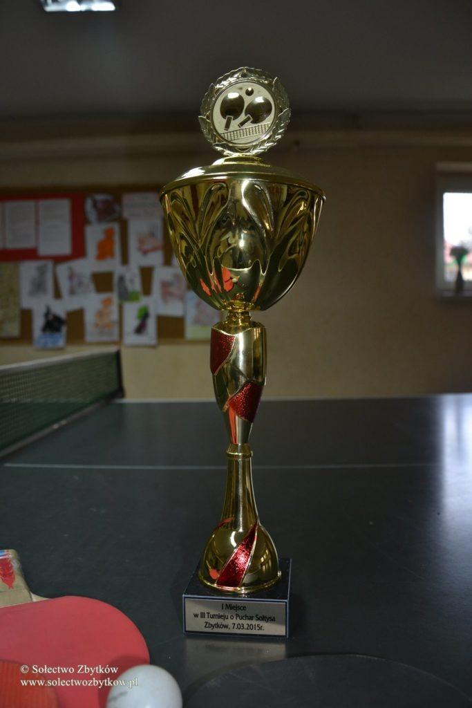 III Turniej tenisa stołowego o puchar Sołtysa