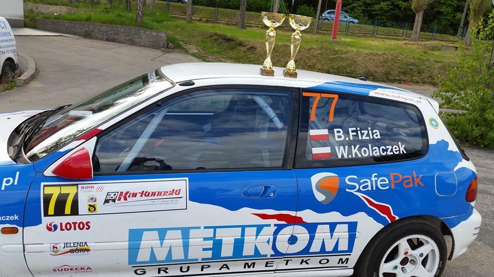 Następny sukces załogi  Metkom Rally Team Zbytków