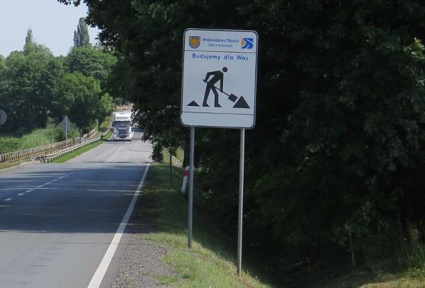 Remont DW 938 w Pawłowicach