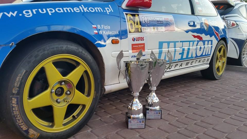 Zwycięstwo załogi Metkom Rally Team Zbytków