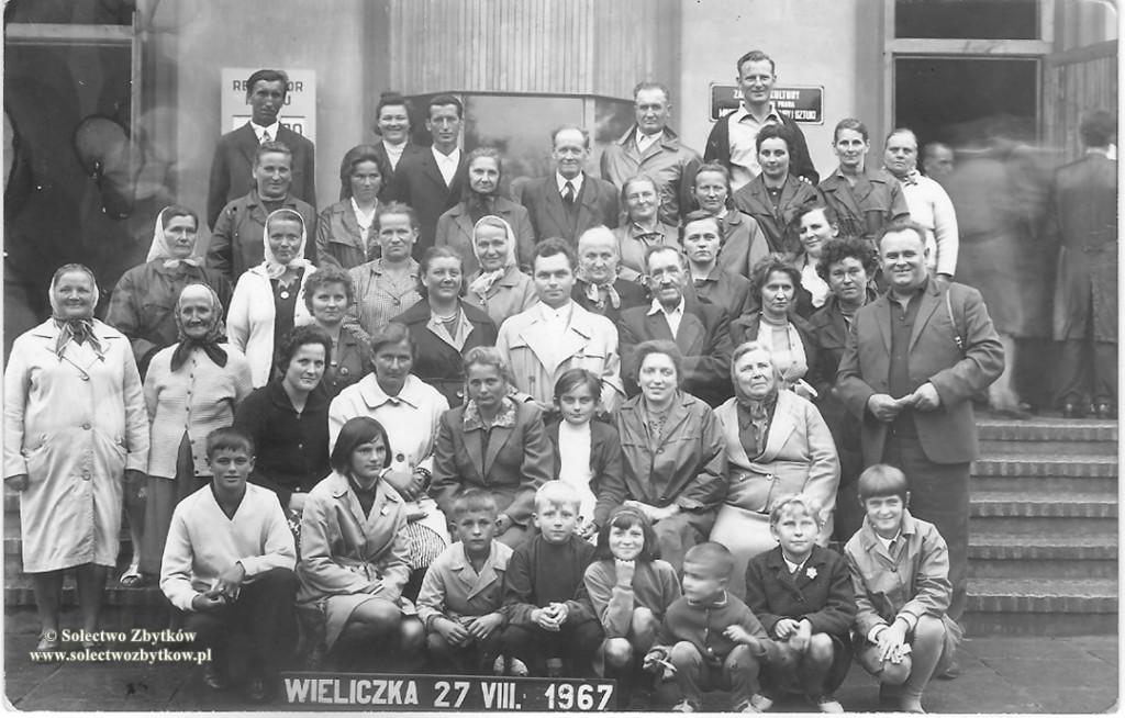 Wycieczka do Wieliczki w 1967 r.