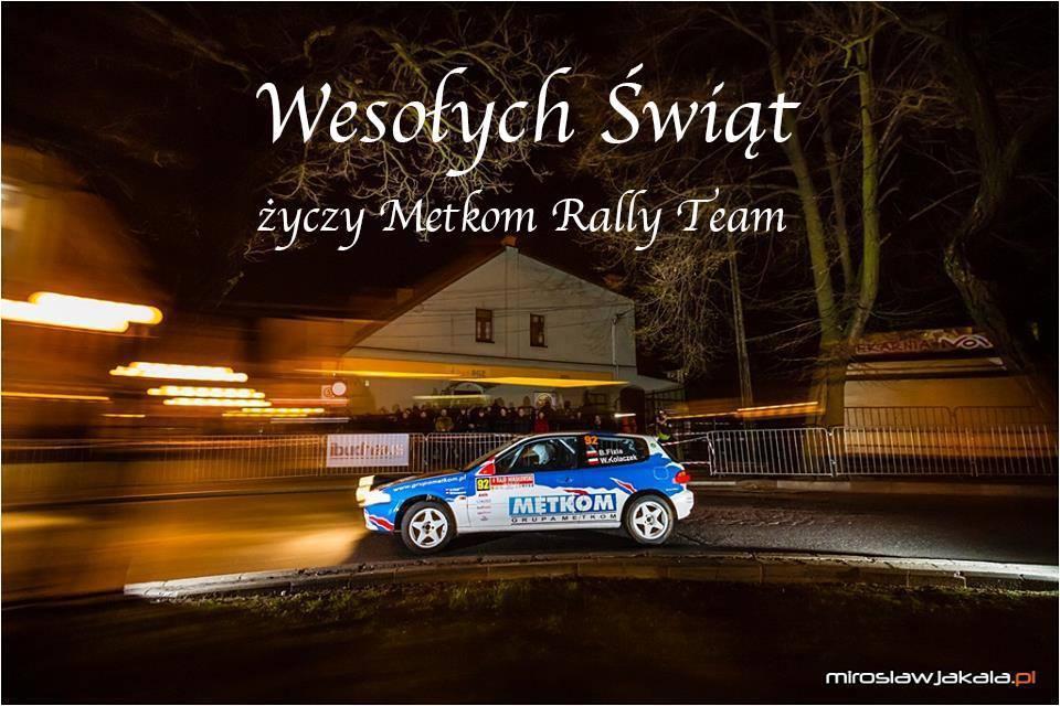 Życzenia od załogi Metkom Rally Team