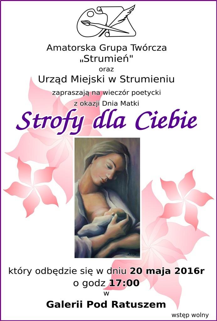 """""""Strofy dla Ciebie"""" w Galerii Pod Ratuszem"""