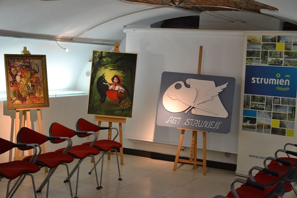 Dzieci w Galerii Pod Ratuszem