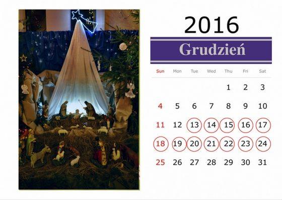 """Prognoza wg kalendarza """"Od Łucyji do Wilii"""""""