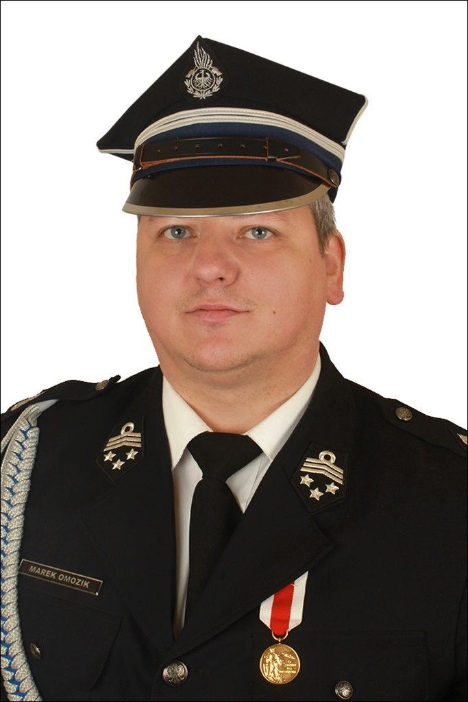 Druh Marek Omozik w Prezydium Oddziału Wojewódzkiego ZOSP RP