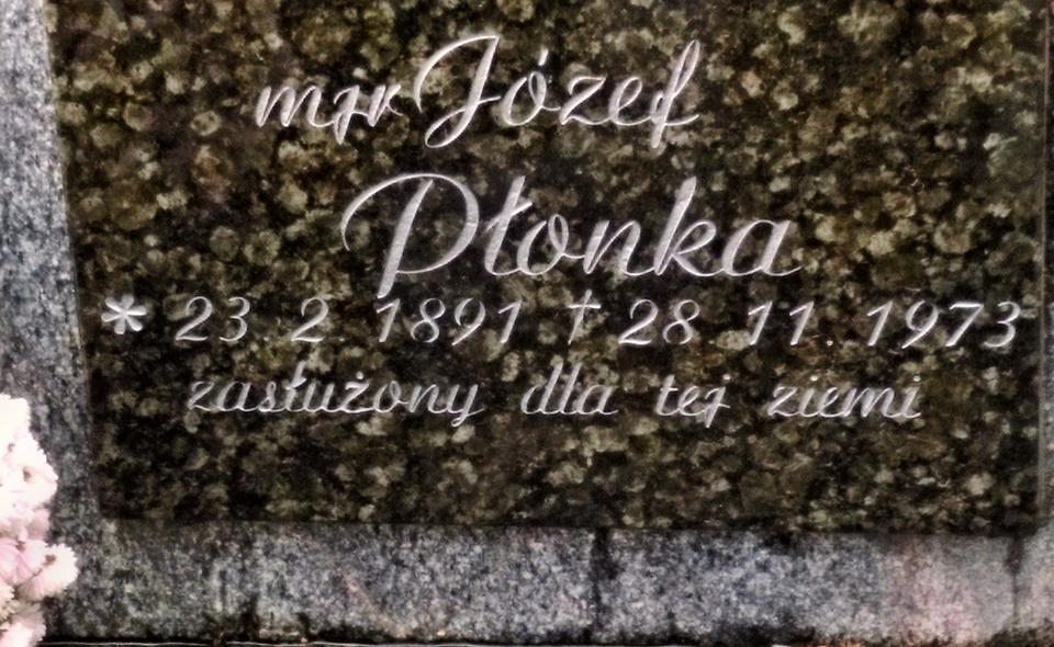 Rocznica śmierci mjr. Józefa Płonki