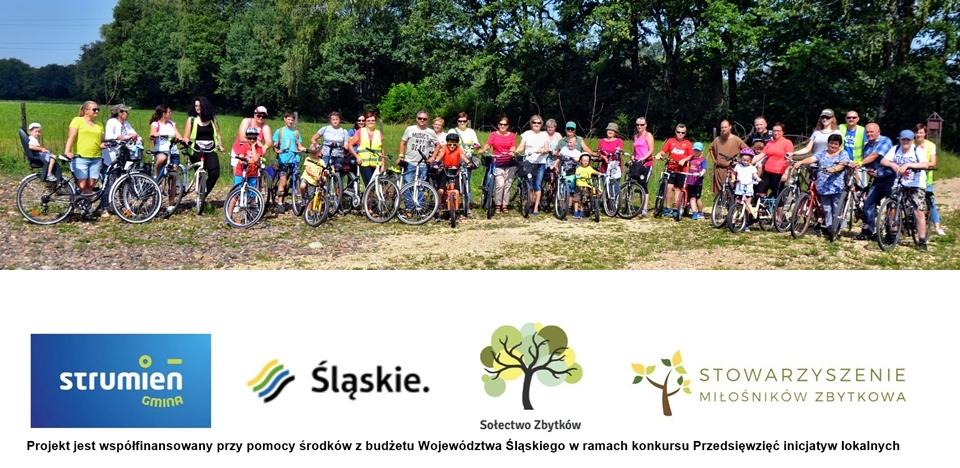 Rodzinna wycieczka rowerowa do osady Białogród w Strumieniu