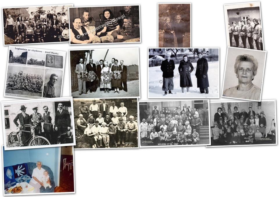Archiwalne fotografie Zbytkowa