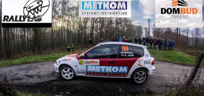 Załoga Metkom Rally Team na Cieszyńskiej Barbórce