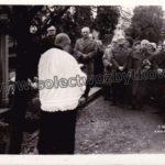 Ponowne przeniesienie prochów Jana Łyska, pierwszy widoczny z prawej to Józef Płonka