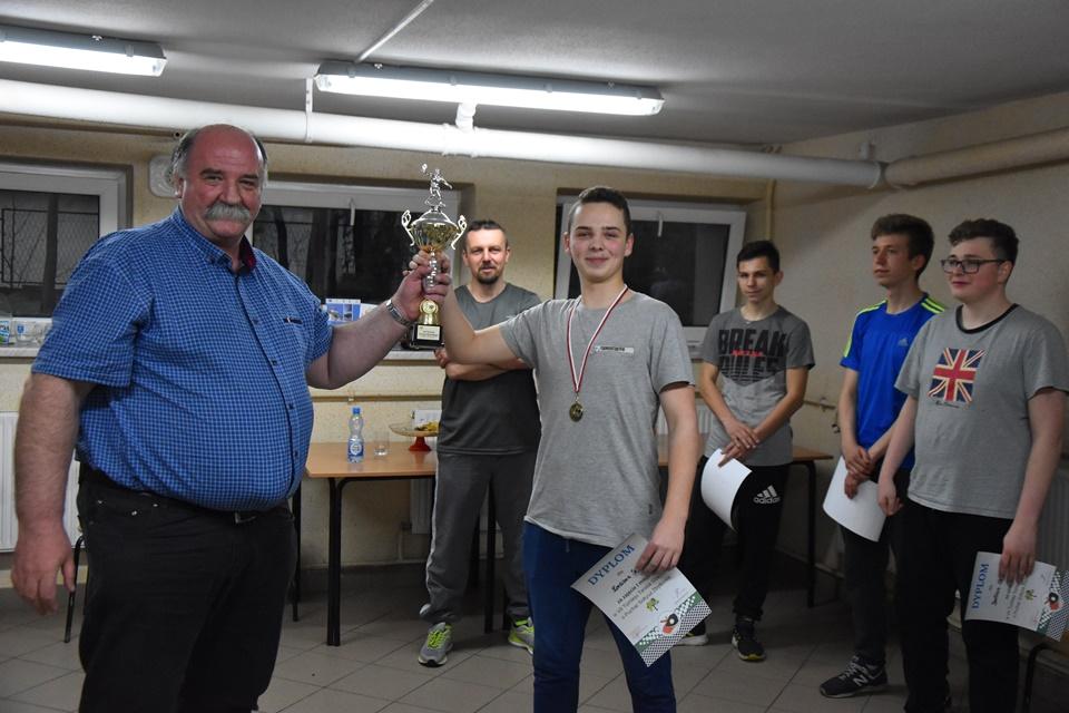 VII Turniej tenisa stołowego o puchar sołtysa Zbytkowa
