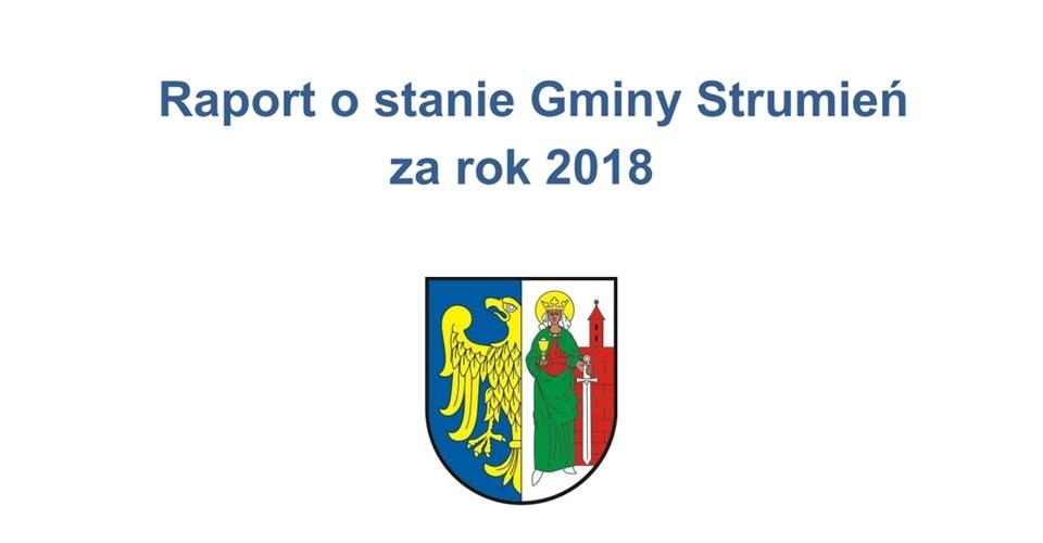 Raport o stanie gminy za 2018 rok