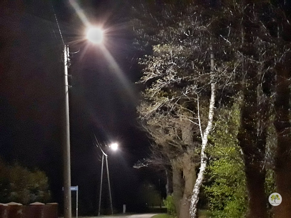 Nie świeci latarnia uliczna?