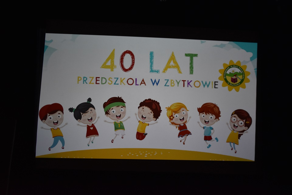 Jubileusz 40-lecia Przedszkola w Zbytkowie