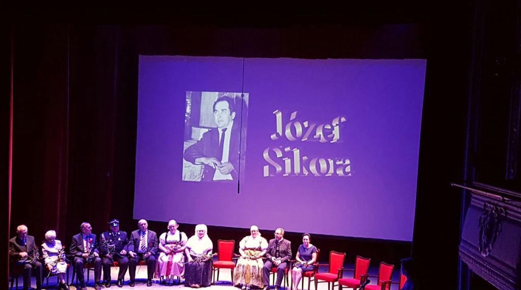 Józef Sikora – laureat Srebrnej Cieszynianki