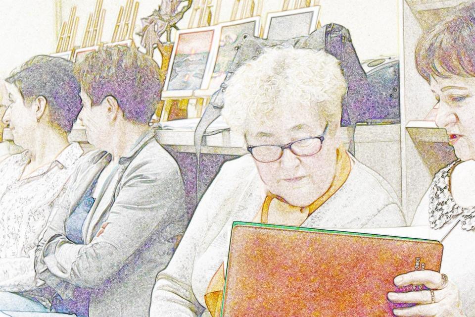 Jesienne spotkanie w bibliotece