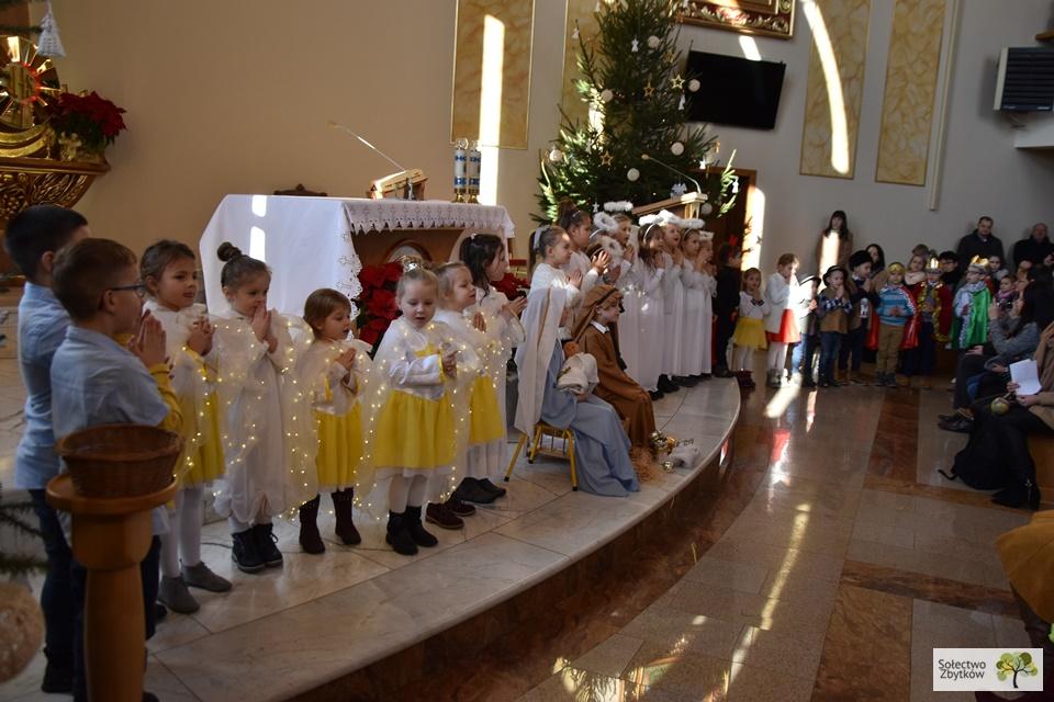 Jasełka przedszkolaków ze Zbytkowa