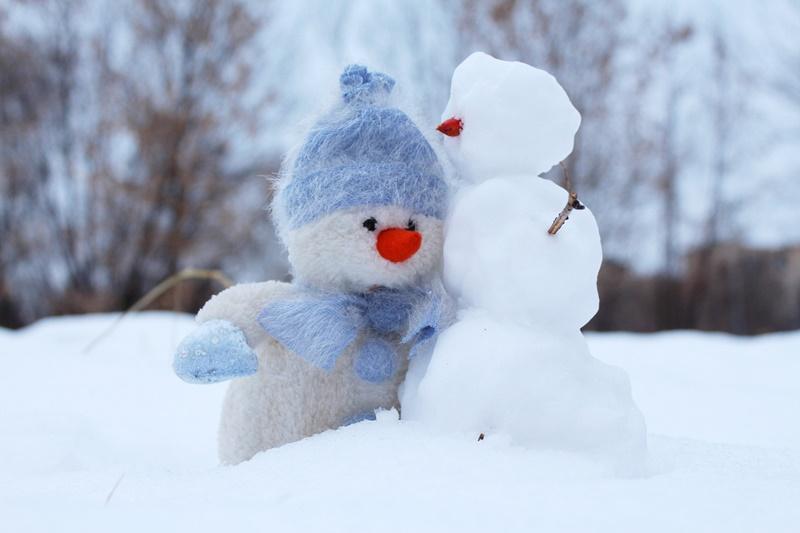 Konkurs na najlepszego śnieżnego bałwanka!