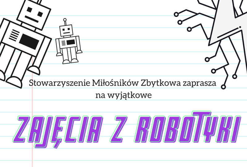 Zapraszamy na zajęcia z robotyki